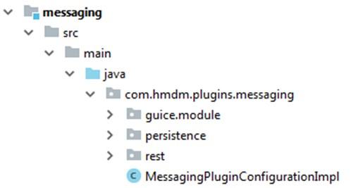 Headwind MDM plugin backend code structure